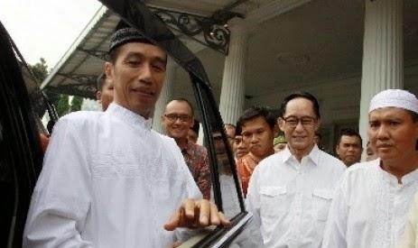Lebaran Jokowi, Open House Jokowi di Solo