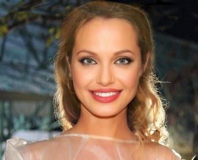 Model Ukraina Tatyana Vorzheva Mirip Angelina Jolie