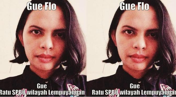 Meme Lucu Florence Sihombing si Ratu SPBU