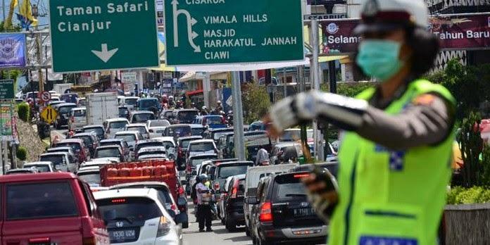 Pelat B Dilarang Masuk Kota Bogor
