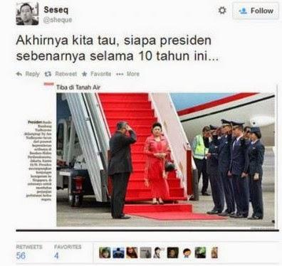 SBY Hormat Kepada Ani Yudhoyono