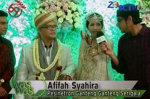Foto Afifa Syahira GGS dan Syaiful Drajat