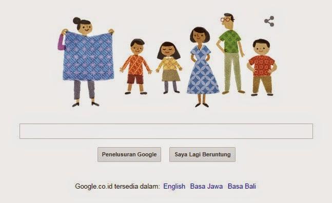 Batik Indonesia: Google Rayakan Hari Batik Nasional 2014