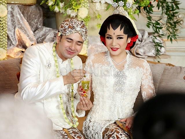 Foto-Foto Pernikahan Raffi Ahmad dan Nagita Slavina