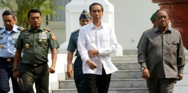 Susunan Kabinet Kerja Jokowi-JK