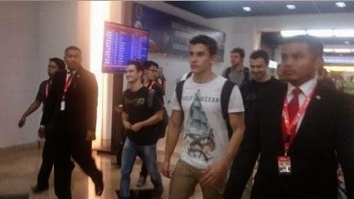 Marc Marquez dan Dani Pedrosa Datang ke Jakarta