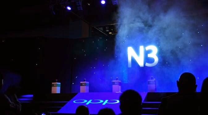 Launching Oppo N3 di Singapore