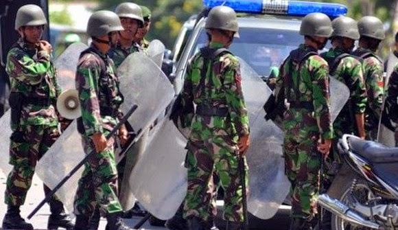 Kronologi Bentrokan TNI dan Polri di Batam Versi IPW