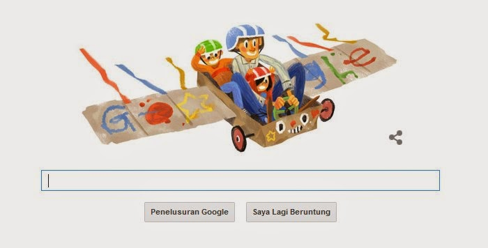 Google Doodle: Peringatan Hari Ayah Nasional 12 November
