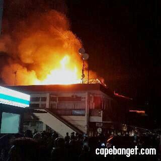 Pasar Klewer Kebakaran
