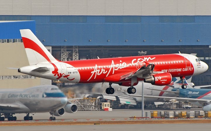 Inilah Daftar Kru AirAsia Rute Surabaya-Singapura yang Hilang