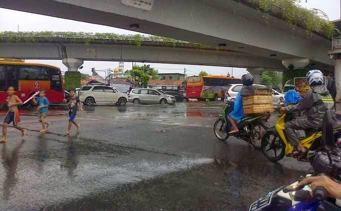 Inilah Titik-Titik Genangan Air atau Banjir di Jakarta
