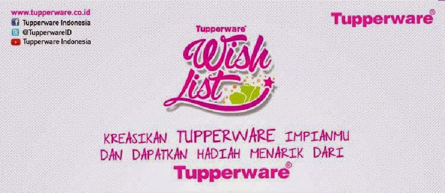 Katalog Harga Tupperware Terbaru