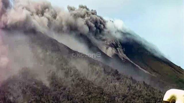 Gunung Gamalama Meletus, Status Naik Jadi Siaga Level III