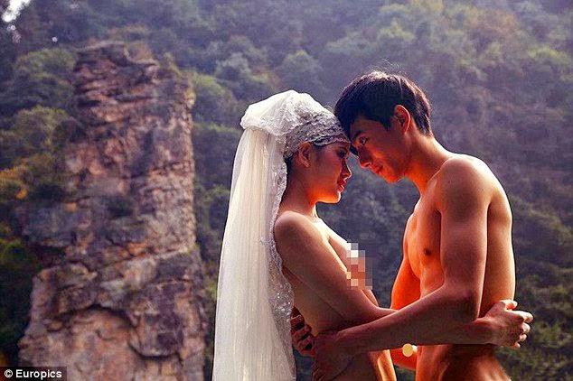 Foto Pre-Wedding Telanjang Tema Avatar