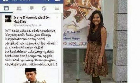 Perempuan Ini Hina Ustadz Yusuf Mansur di Facebook
