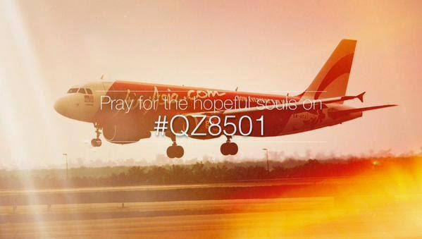 Gambar dan DP BBM #PrayForAirAsia