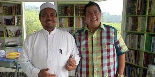 Foto Habib Rizieq Syihab Dan Pendeta Gilbert Lumoindong Bergandengan