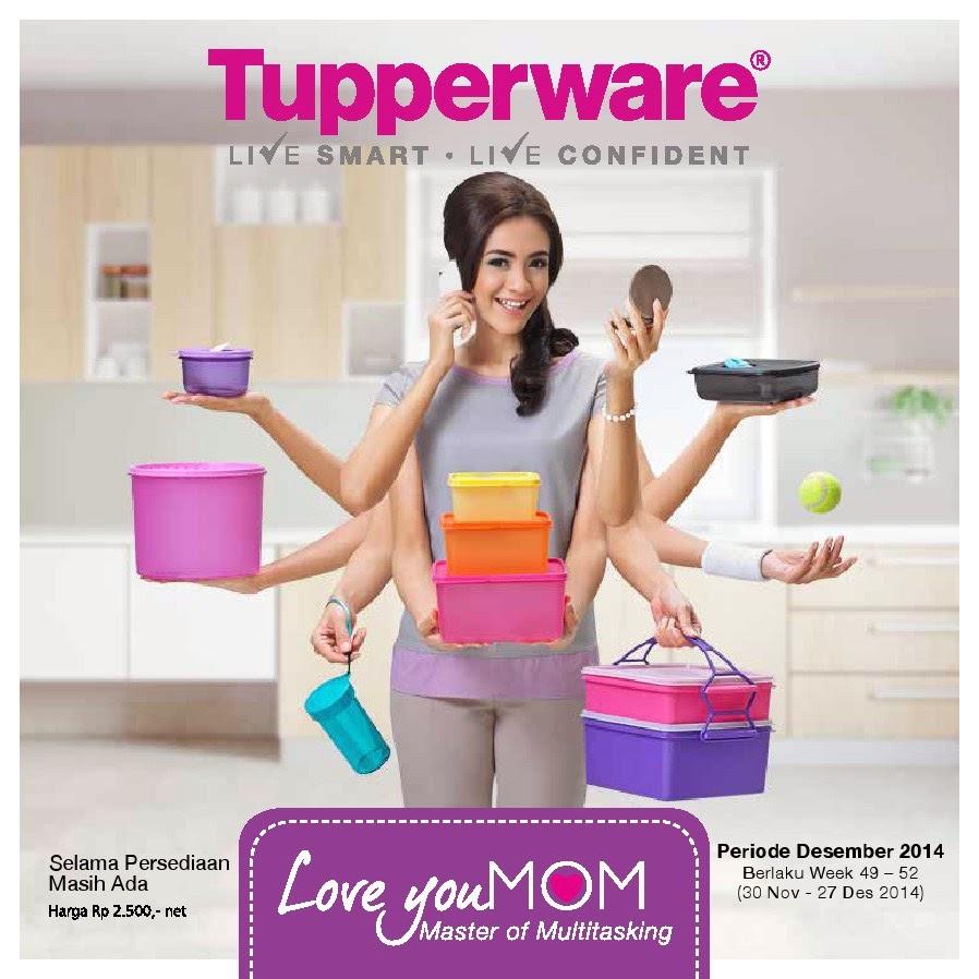 Katalog Tupperware Edisi Bulan Desember 2014