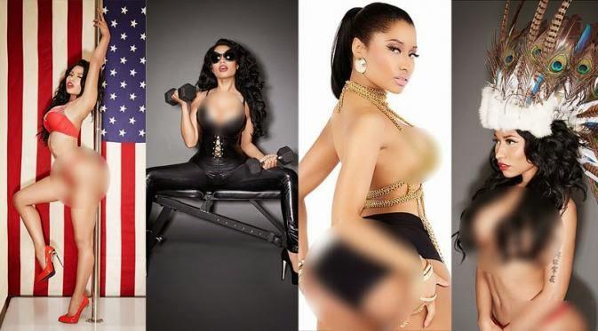 Foto Topless Nicki Minaj 2015