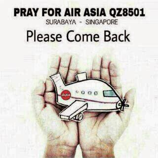 DP BBM #PrayForAirAsia