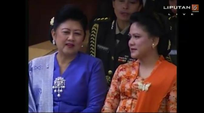 Cara Iriana Jokowi dan Ani Yudoyono Ucapkan Selamat Hari Ibu di Sosmed