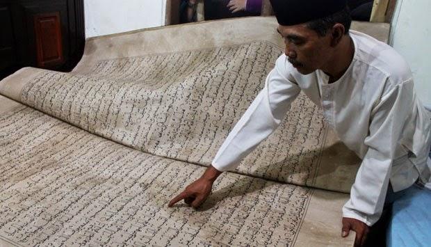 Al-Qur'an Raksasa Sidoarjo Di Bakar MUI