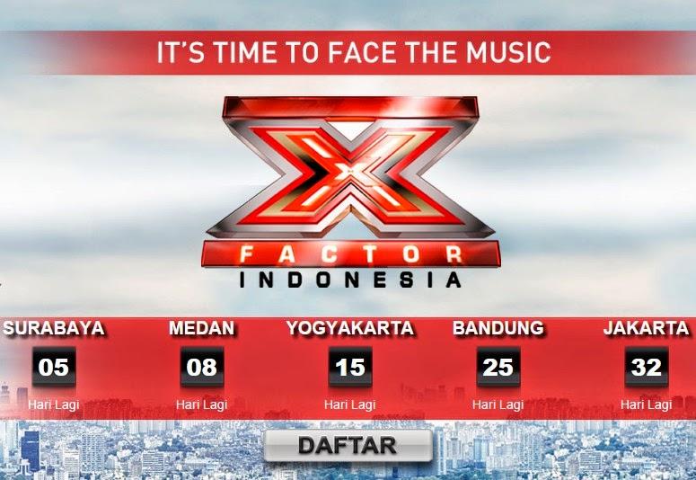 Persyaratan dan Jadwal Audisi X Factor Indonesia 2015