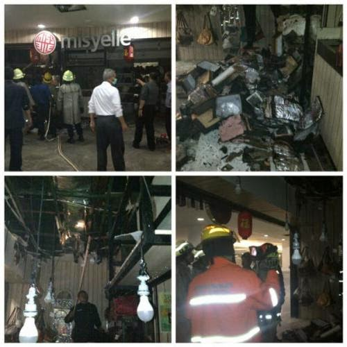 Foto-Foto Mall BIP Kebakaran