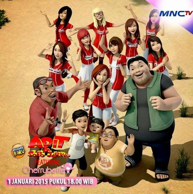 Cherrybelle di Film Animasi Adit Sopo Jarwo