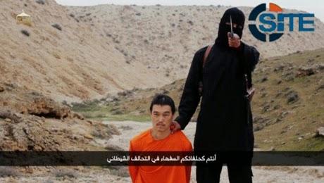 Video ISIS Penggal Kepala Wartawan Jepang Kenji Goto